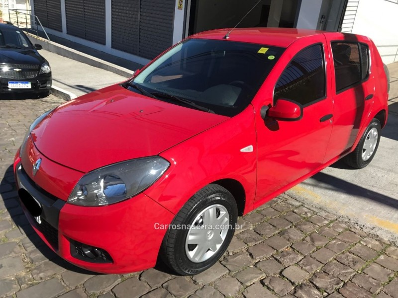sandero 1.0 expression 16v flex 4p manual 2014 caxias do sul