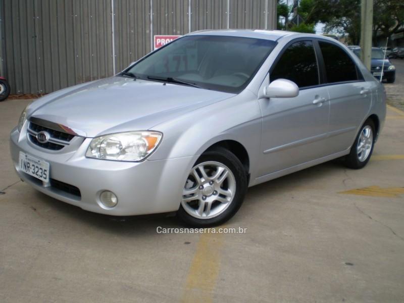 cerato 1.6 ex sedan 16v gasolina 4p automatico 2006 caxias do sul