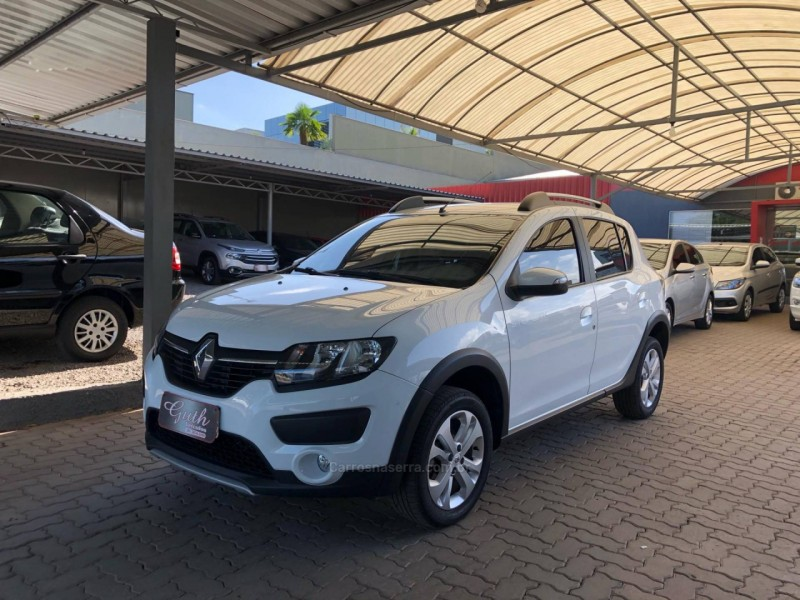 sandero 1.6 stepway 16v flex 4p manual 2017 bom principio