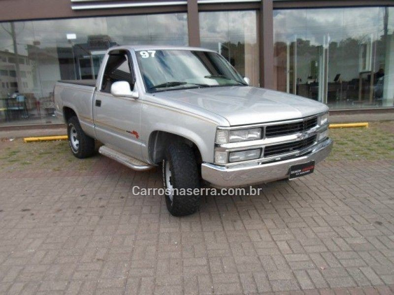 silverado 4.2 conquest 4x2 cs 18v turbo intercooler diesel 2p manual 1997 caxias do sul
