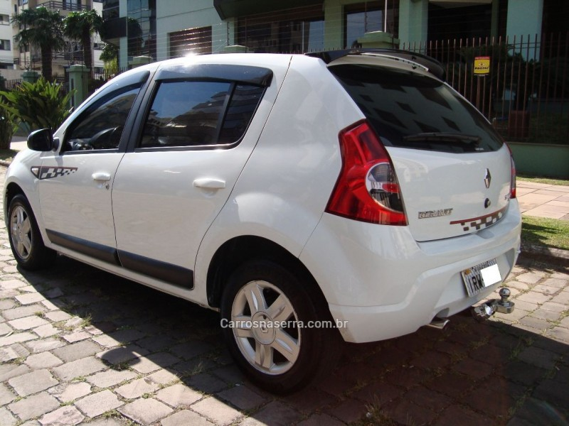 sandero 1.6 gt line limited flex 4p manual 2011 caxias do sul