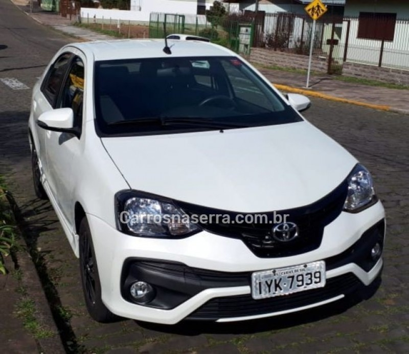 etios 1.5 xls sedan 16v flex 4p automatico 2019 caxias do sul