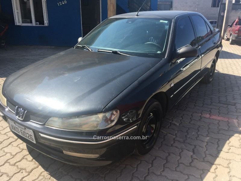406 2.0 st sedan 16v gasolina 4p automatico 2001 caxias do sul