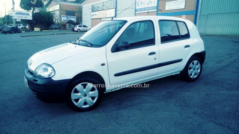 clio 1.0 rl 8v gasolina 4p manual 2003 caxias do sul