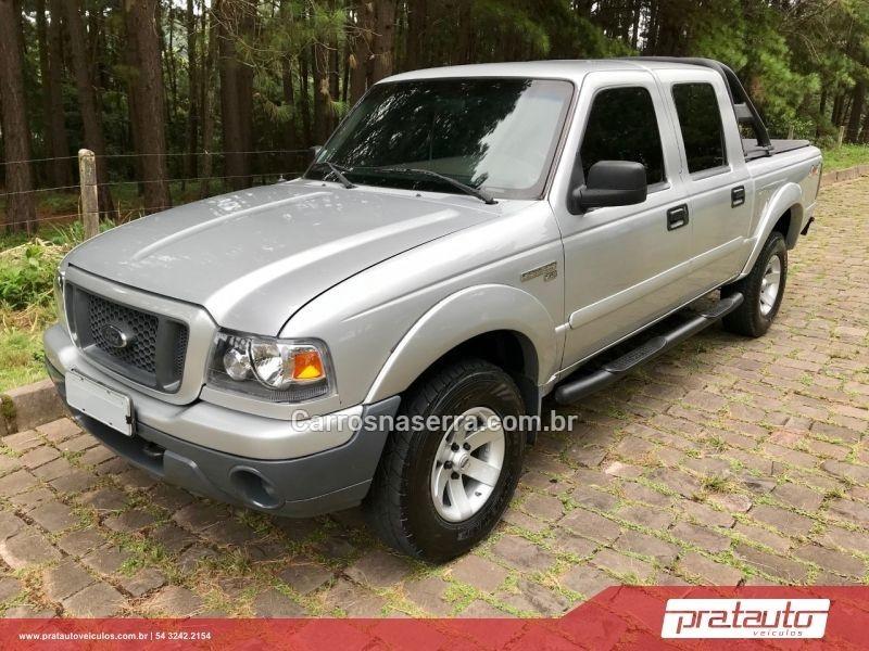 ranger 2.8 xls 4x4 cd 8v turbo intercooler diesel 4p manual 2005 nova prata