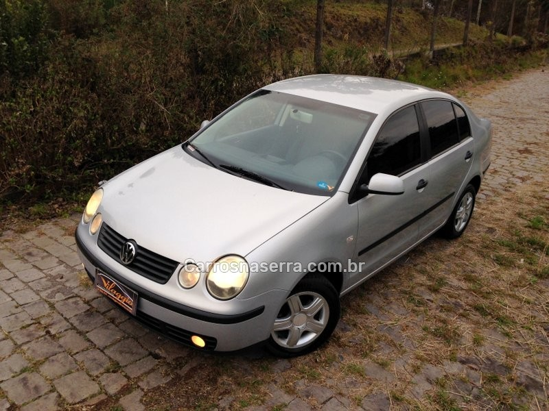 polo 1.6 mi 8v gasolina 4p manual 2004 caxias do sul
