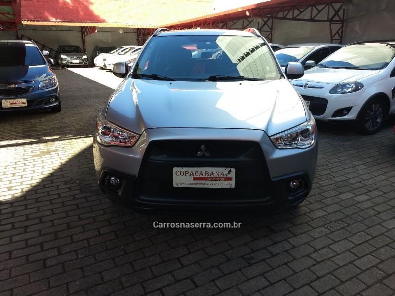 asx 2.0 4x2 16v gasolina 4p automatico 2011 caxias do sul