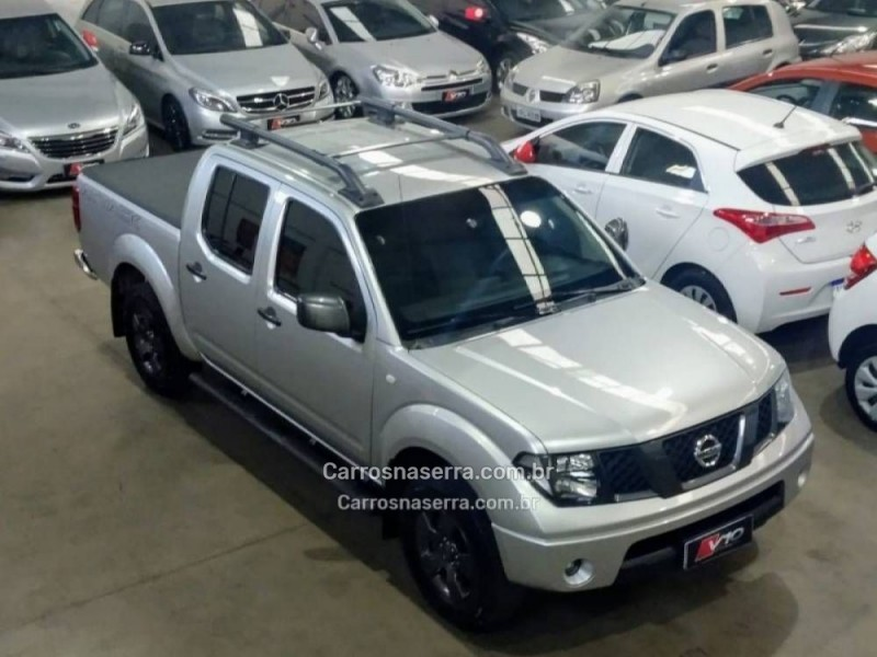 frontier 2.5 se attack 4x2 cd turbo eletronic diesel 4p manual 2013 caxias do sul