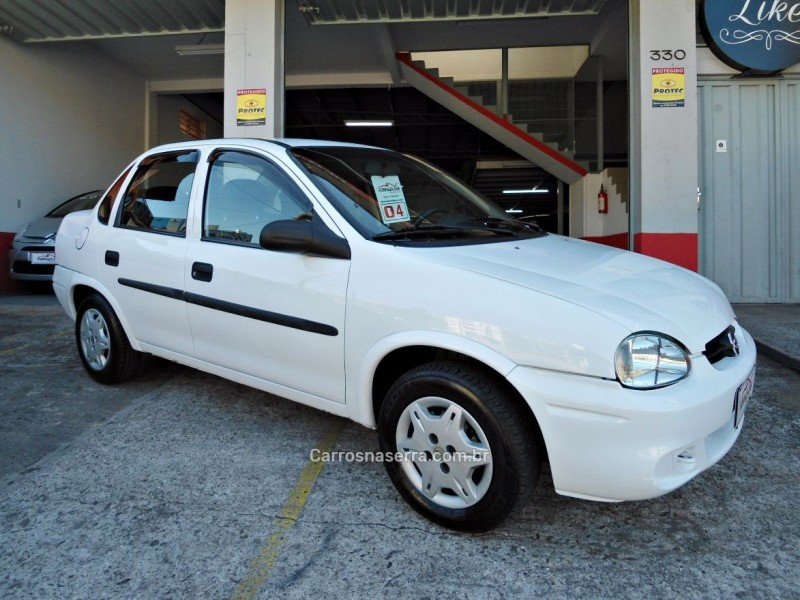 corsa 1.6 mpfi classic sedan 8v gasolina 4p manual 2004 caxias do sul
