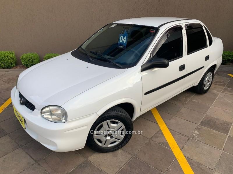 corsa 1.0 mpfi vhc sedan 8v gasolina 4p manual 2004 caxias do sul