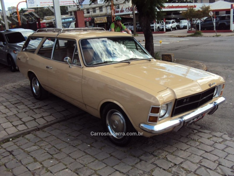 CARAVAN 2.5 L 8V GASOLINA 2P MANUAL - 1979 - CAXIAS DO SUL