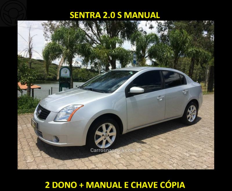 sentra 2.0 s 16v flex 4p manual 2009 caxias do sul
