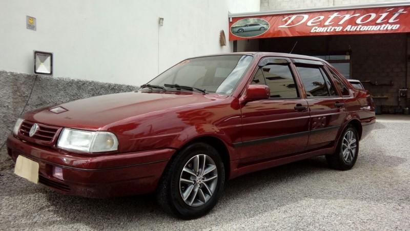 santana 2.0 mi 8v gasolina 4p manual 1997 caxias do sul