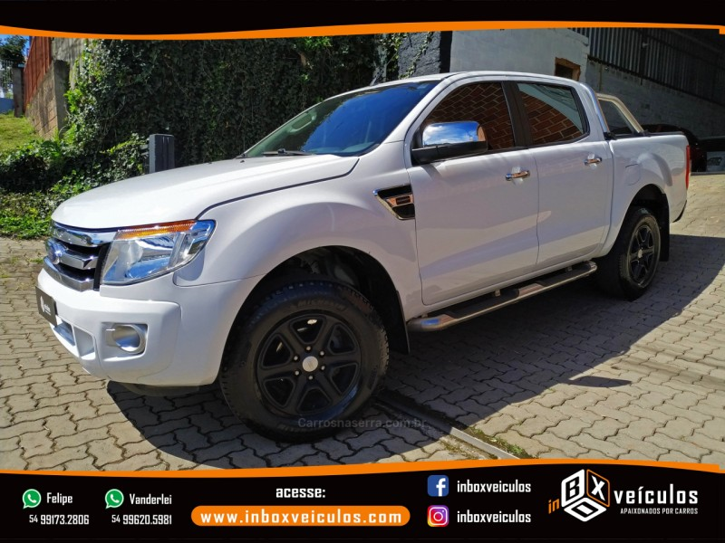 ranger 2.5 xlt 4x2 cd 16v flex 4p manual 2014 gramado