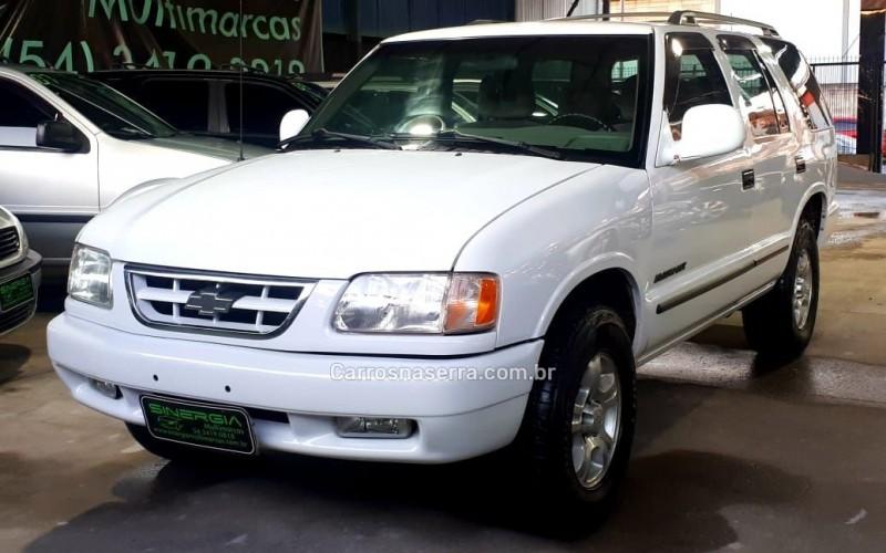blazer 2.5 dlx 4x2 8v turbo diesel 4p manual 1998 caxias do sul