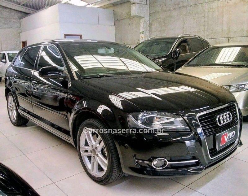 a3 2.0 tfsi sportback 16v gasolina 4p s tronic 2012 caxias do sul
