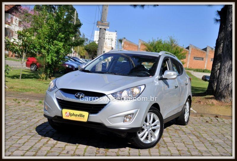 ix35 2.0 mpfi gls 4x2 16v gasolina 4p automatico 2012 caxias do sul