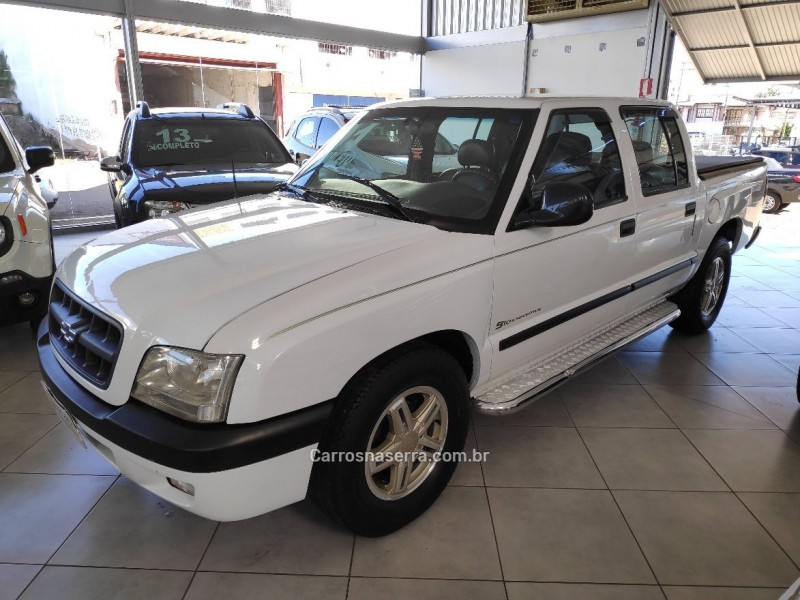 s10 2.8 dlx 4x2 cd 12v turbo intercooler diesel 4p manual 2001 tapejara