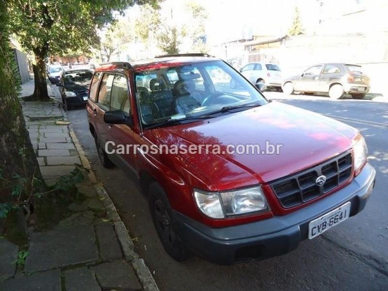 forester 2.0 4x4 16v gasolina 4p automatico 1998 caxias do sul