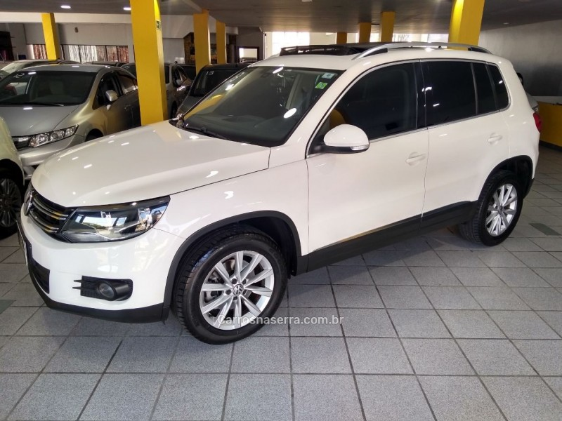 tiguan 2.0 tsi 16v turbo gasolina 4p tiptronic 2013 caxias do sul