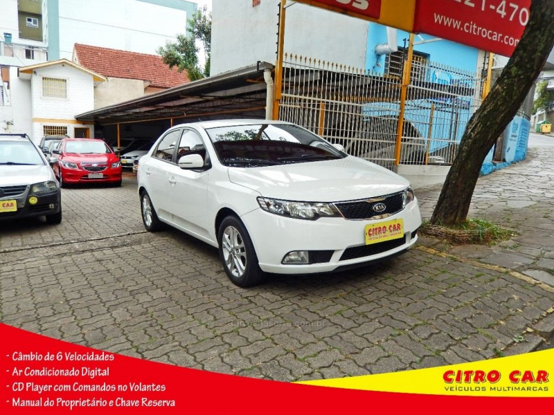 cerato 1.6 ex3 sedan 16v gasolina 4p manual 2012 caxias do sul