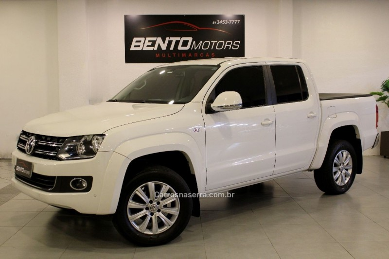 amarok 2.0 highline 4x4 cd 16v turbo intercooler diesel 4p automatico 2015 bento goncalves