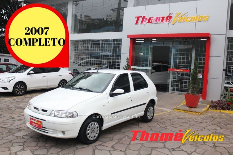 palio 1.0 mpi fire 8v gasolina 4p manual 2007 caxias do sul