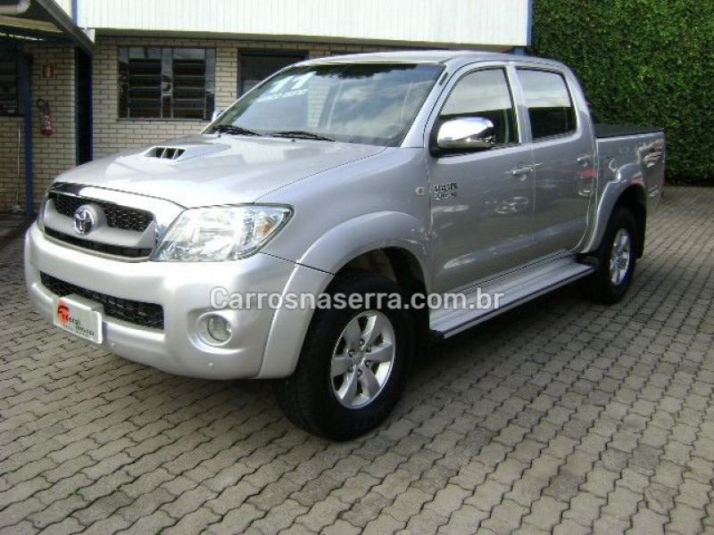 hilux 3.0 srv 4x4 cd 16v turbo intercooler diesel 4p manual 2011 caxias do sul