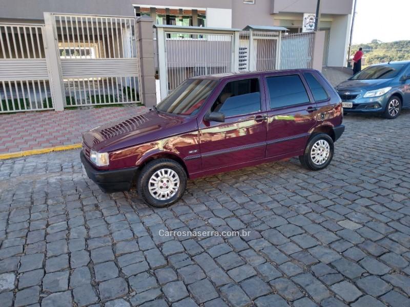 uno 1.5 ie cs 8v gasolina 4p manual 1996 caxias do sul
