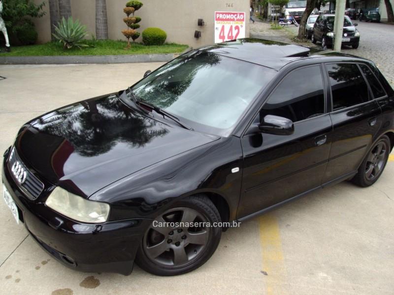 a3 1.8 20v 180cv turbo gasolina 4p tiptronic 2002 caxias do sul
