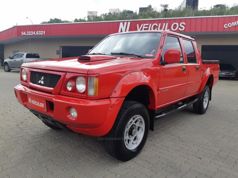l200 2.5 sport hpe 4x4 cd 8v turbo intercooler diesel 4p manual 2003 caxias do sul