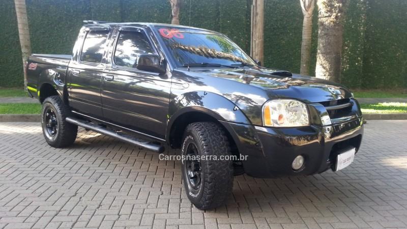 frontier 2.8 se 4x4 cd turbo diesel 4p manual 2006 caxias do sul