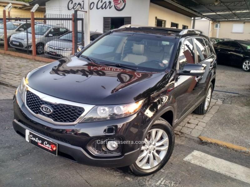 sorento 3.5 4x4 v6 24v gasolina 4p automatico 2012 caxias do sul