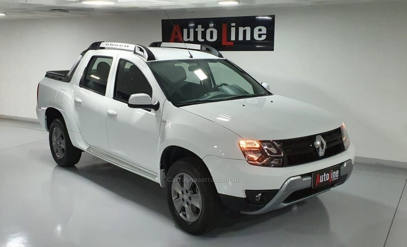 duster oroch 1.6 16v flex dynamique 4p manual 2018 bento goncalves