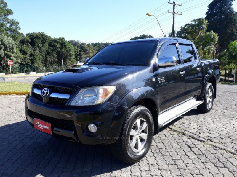 hilux 3.0 srv 4x4 cd 16v turbo intercooler diesel 4p automatico 2008 caxias do sul