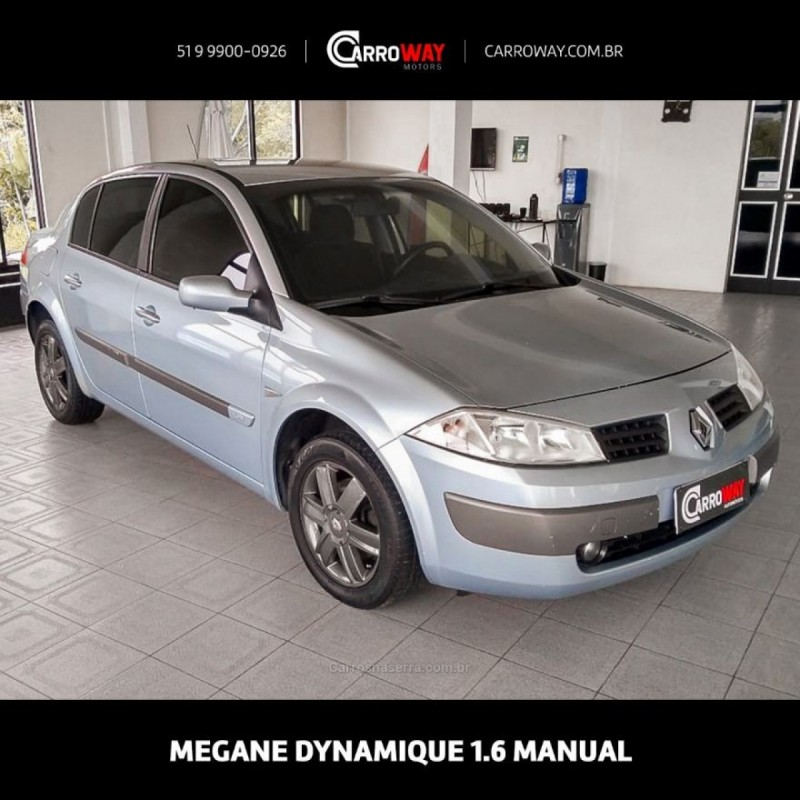 megane 1.6 dynamique 16v flex 4p manual 2007 feliz