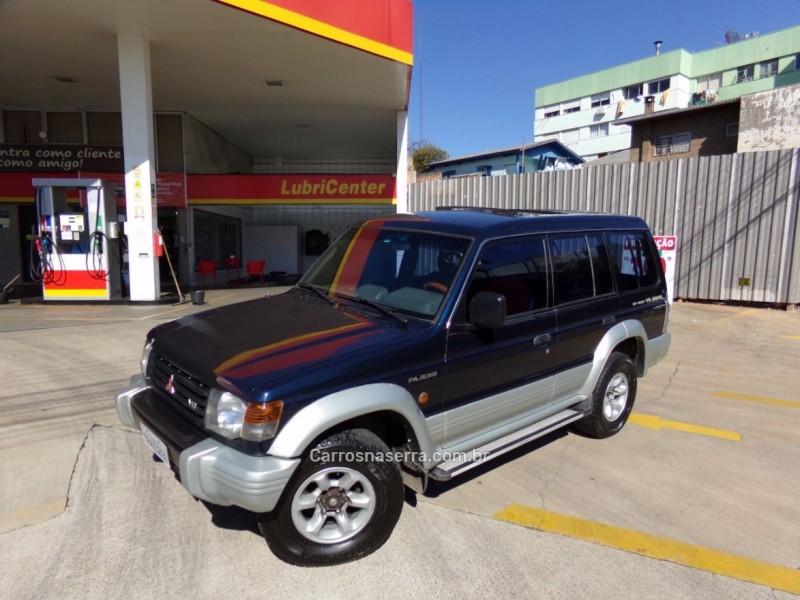 pajero 3.0 gls b 4x4 v6 150cv gasolina 4p automatico 1995 caxias do sul