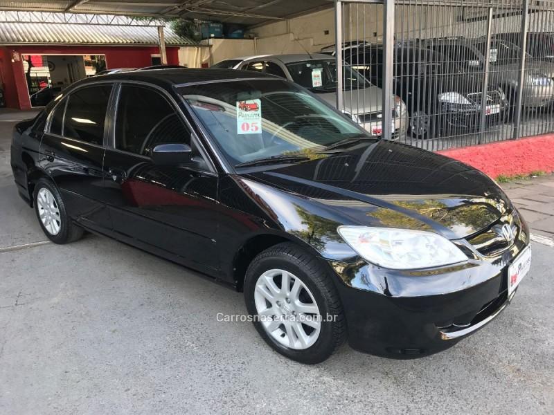 civic 1.7 lx 16v gasolina 4p automatico 2005 caxias do sul