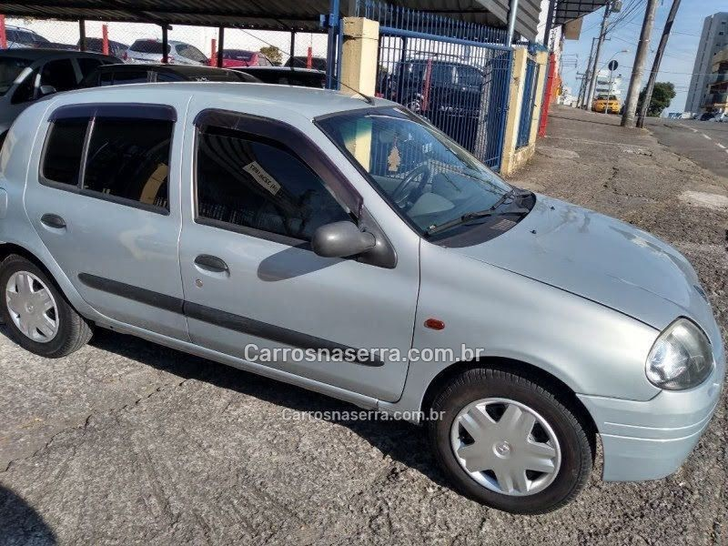 clio 1.0 rn 16v gasolina 4p manual 2002 caxias do sul