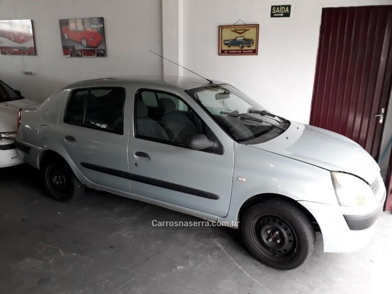 clio 1.0 authentique sedan 16v gasolina 4p manual 2004 caxias do sul