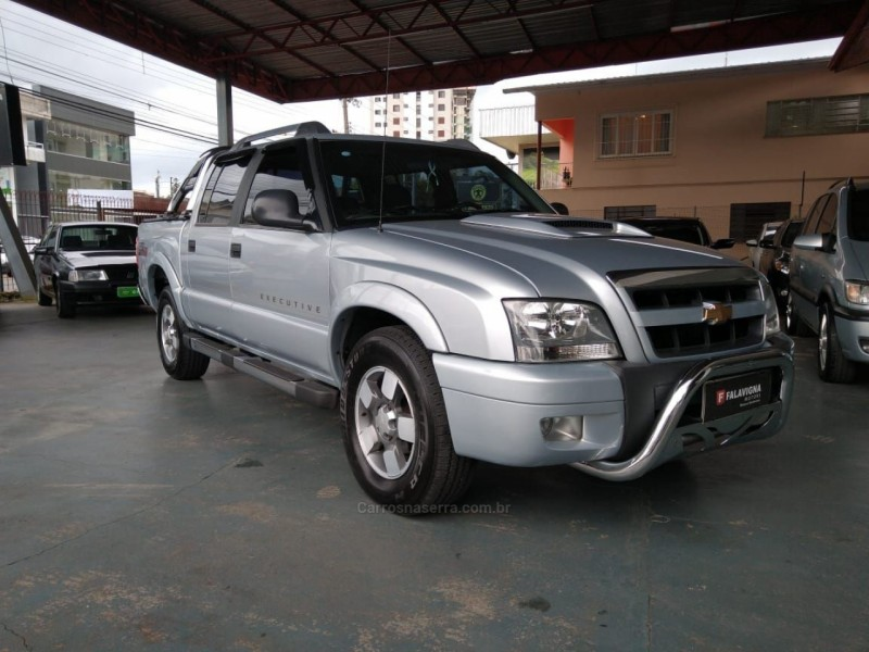 s10 2.8 executive 4x4 cd 12v turbo intercooler diesel 4p manual 2009 caxias do sul