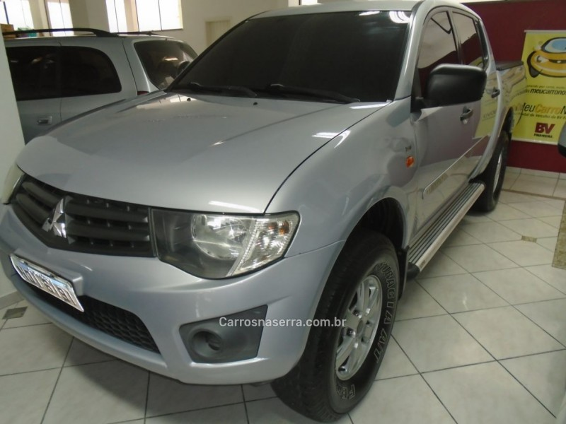 l200 triton 3.2 gl 4x4 cd 16v turbo intercoler diesel 4p manual 2013 nova prata