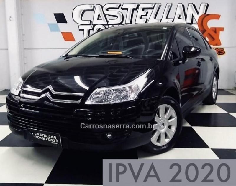 c4 2.0 glx pallas 16v gasolina 4p automatico 2012 caxias do sul