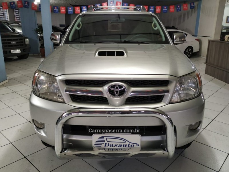 hilux 3.0 srv 4x4 cd 16v turbo intercooler diesel 4p manual 2008 caxias do sul