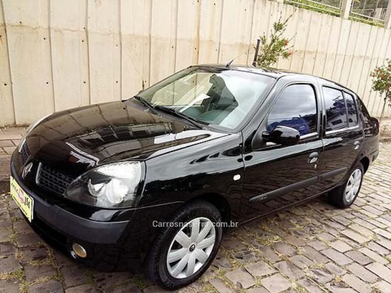 clio 1.0 alize sedan 16v gasolina 4p manual 2006 caxias do sul
