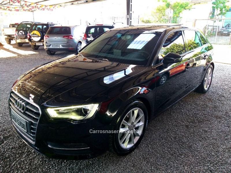a3 1.8 tfsi sportback ambition 16v gasolina 4p automatico 2014 caxias do sul