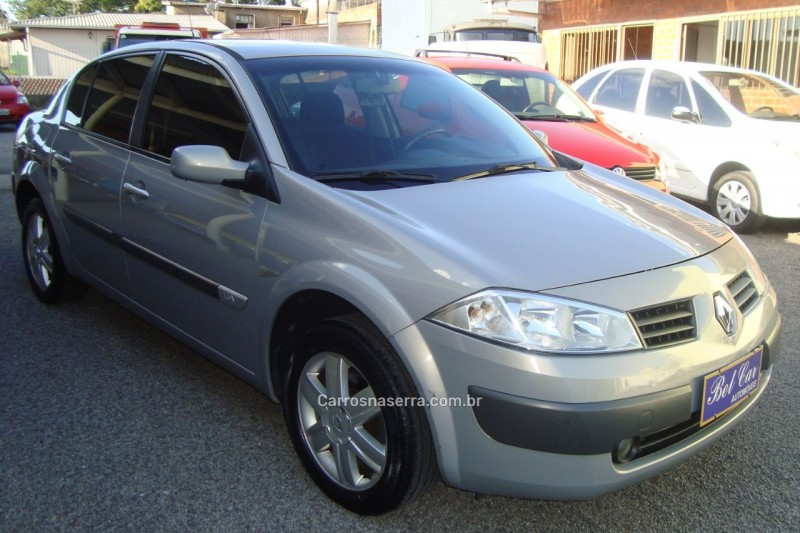 megane 1.6 dynamique 16v flex 4p manual 2007 caxias do sul