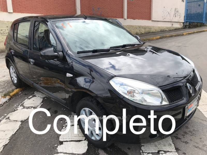 sandero 1.0 expression 16v flex 4p manual 2011 caxias do sul