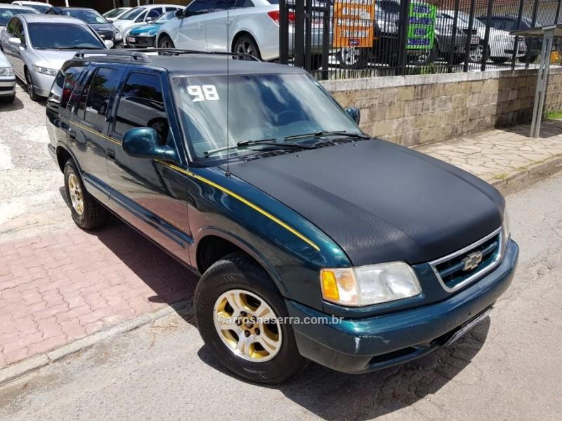 blazer 4.3 sfi dlx executive 4x2 v6 12v gasolina 4p automatico 1998 caxias do sul