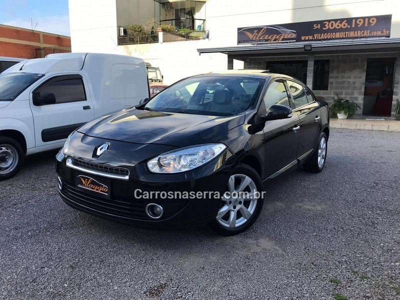 fluence 2.0 privilege 16v flex 4p automatico 2013 caxias do sul